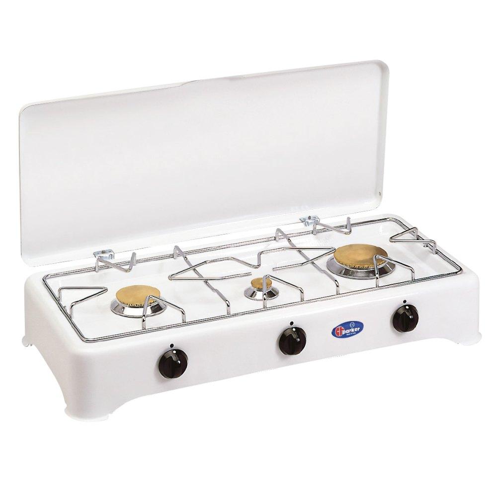 3 burners multigas stove for outdoor use mod. 5324 CBMu