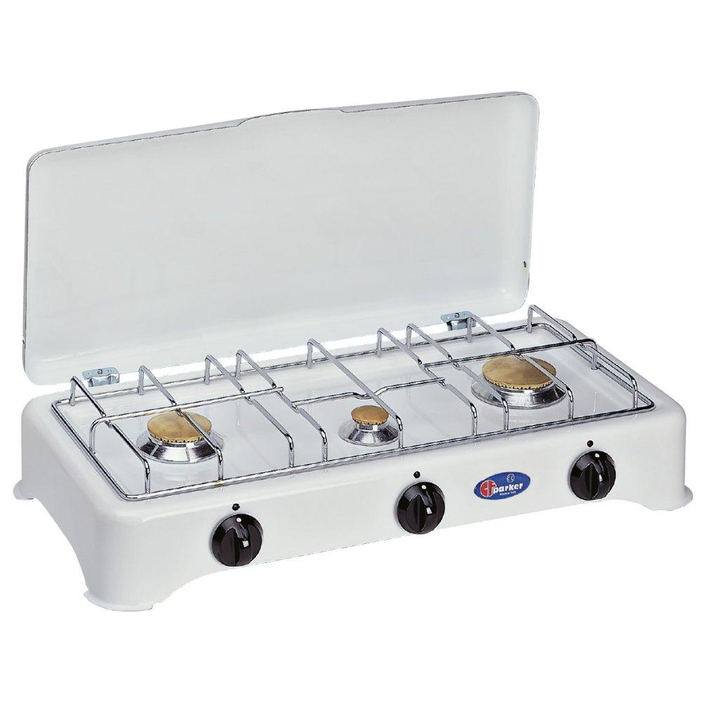 Fornello a gas a 3 fuochi per uso esterno mod. 5327 Mu