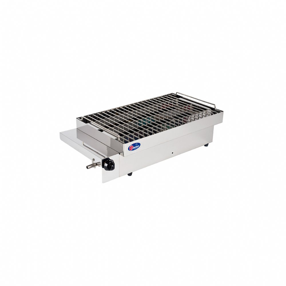 Stainless steel gas barbecue mod. SOLE (50 mbar)