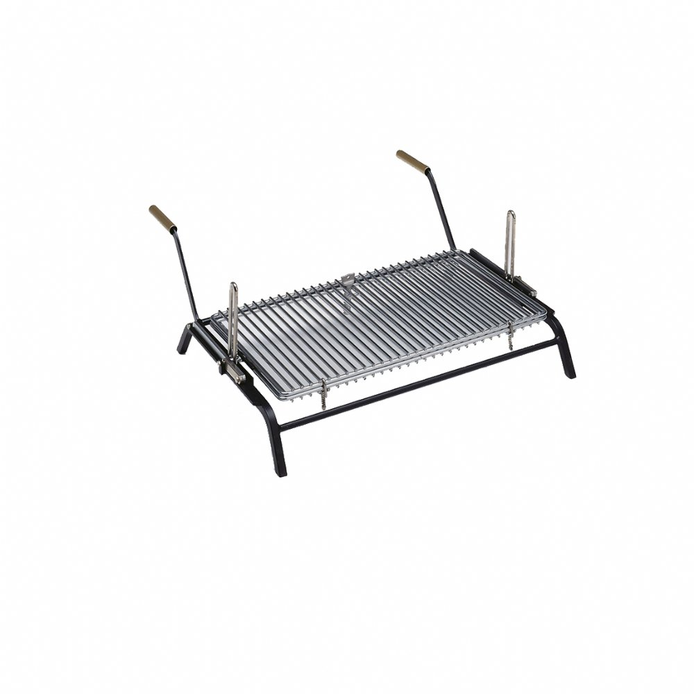 Licensed turn-grill for inside fireplaces and outside barbecues mod. TURN GRILL 60