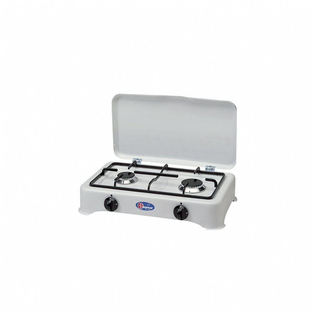 2 burners natural gas stove for indoor use mod. 5326 GPSm