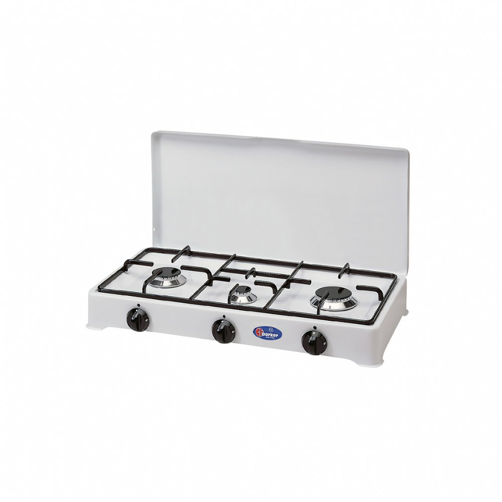 3 burners natural gas stove for indoor use mod. 5328 GPSm