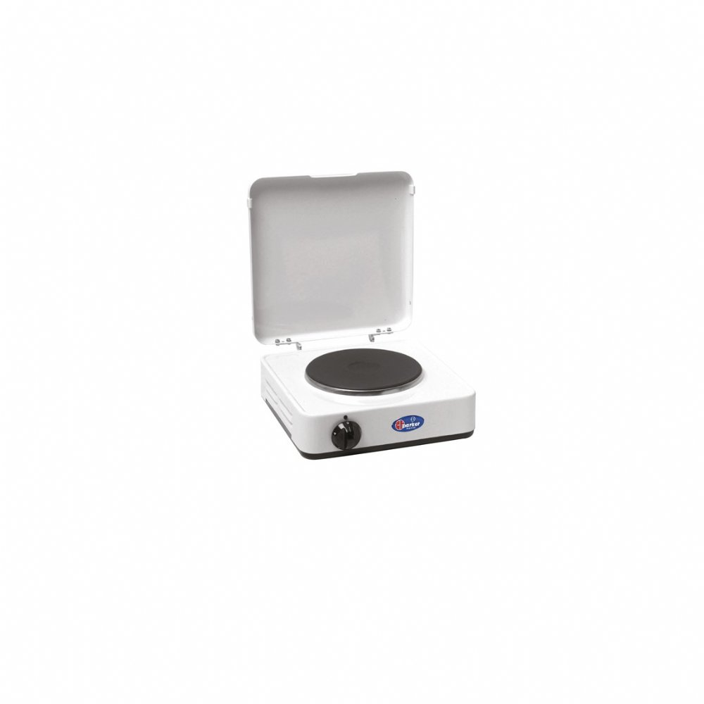 1 plate electric stove mod. 5321 PC with cover