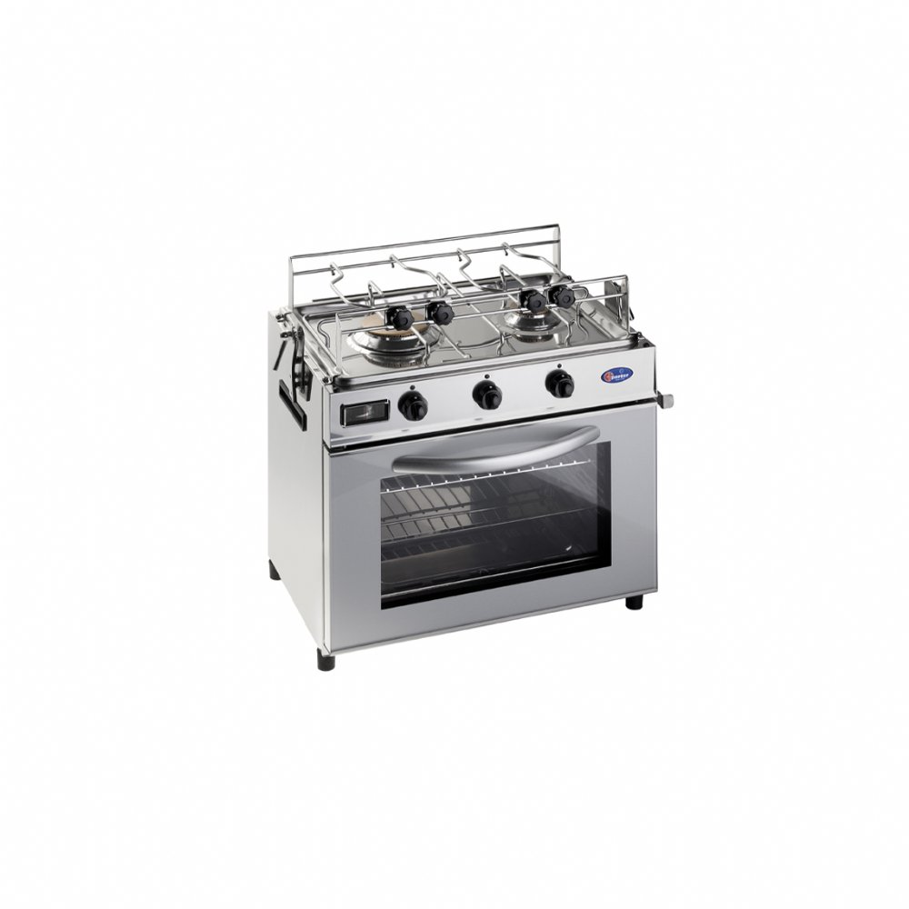Baby cooker nautical range in stainless steel 18/10 mod. FO600NA/C (50 mbar)
