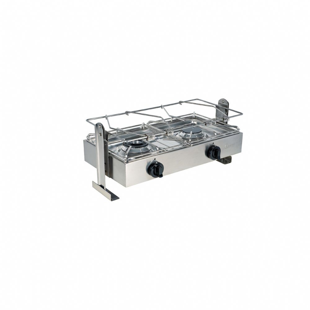 Nautical gas cooker with 2 burners mod. BIG5002LN 1 (kW 3,5 + kW 3,5)