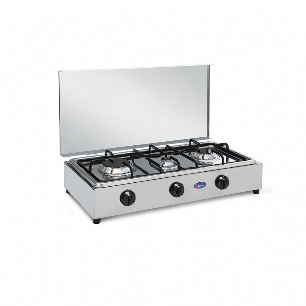 3 burners gas stove for outdoor use mod. 300 ACCGP