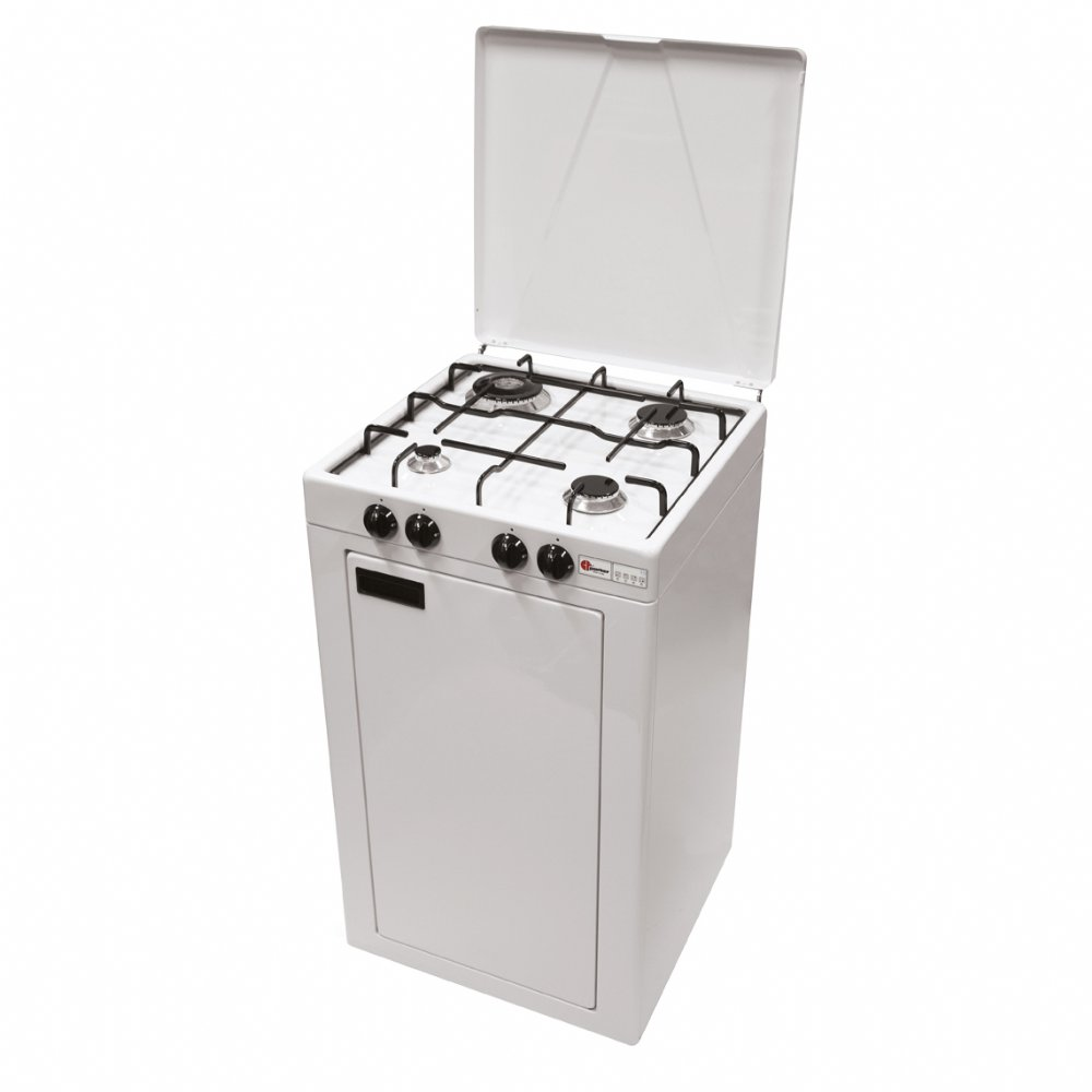 Mobilfornello a gas a 4 fuochi per uso domestico mod. 541 GPS/C