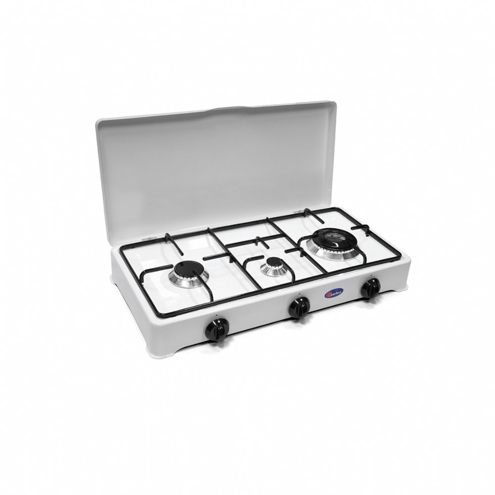 3 burners gas stove for outdoor use mod. 5328 GP/C