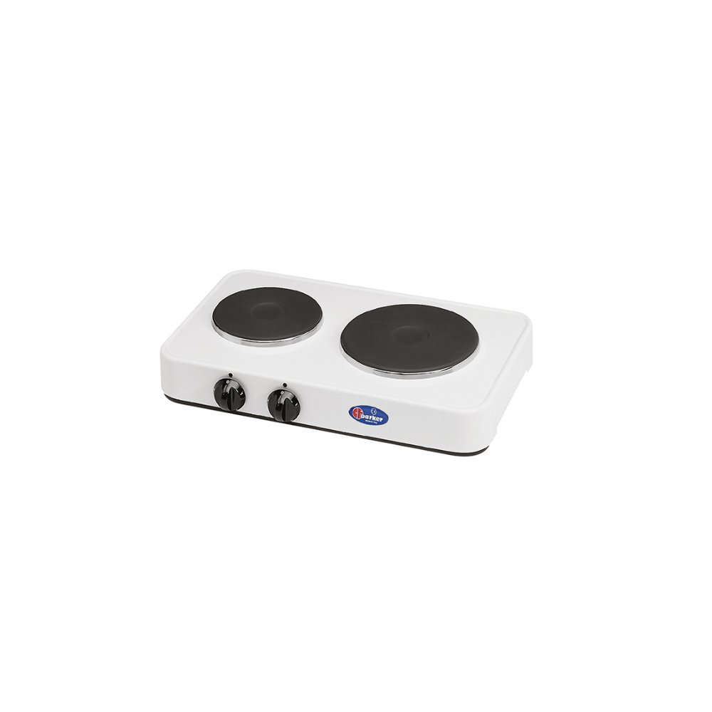 2 plates electric stove mod. 5322P (without cover)