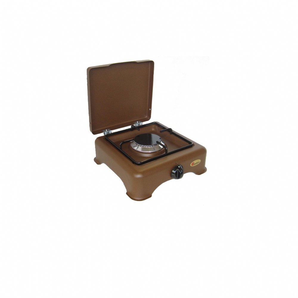 1 burner gas stove for outdoor use mod. 5321 GP CORTEN