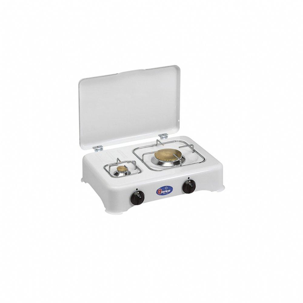 Fornello a gas a 2 fuochi per uso esterno mod. 5325 CBm