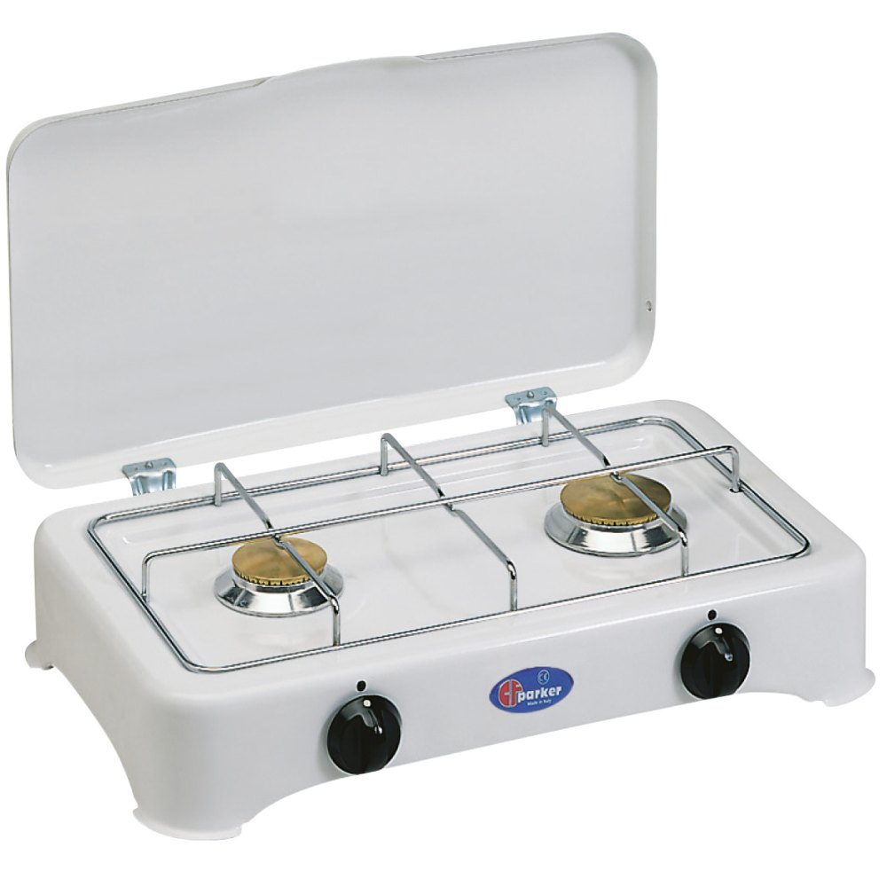 2 burners multigas stove for outdoor use mod. 5326 CBMu